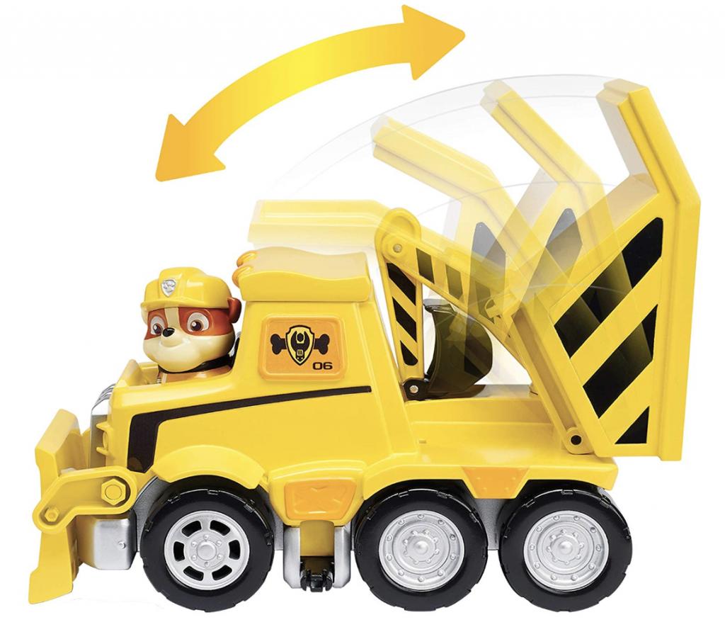 Bulldozer di Rubble, giocattolo Paw Patrol