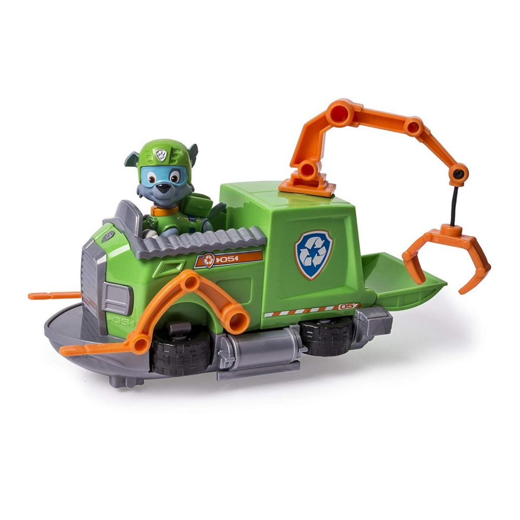 Rocky giocattolo spinboat paw patrol