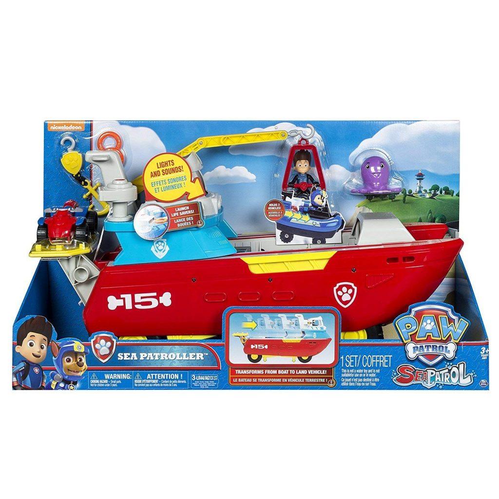 giocattolo veicolo soccorso marino paw patrol